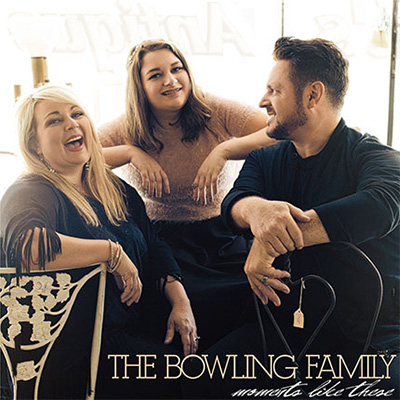 Bowling Family 'Moments Like These' cd cover