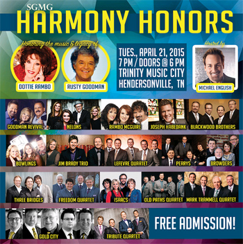 SGMG Harmony Honors April 21, 2015